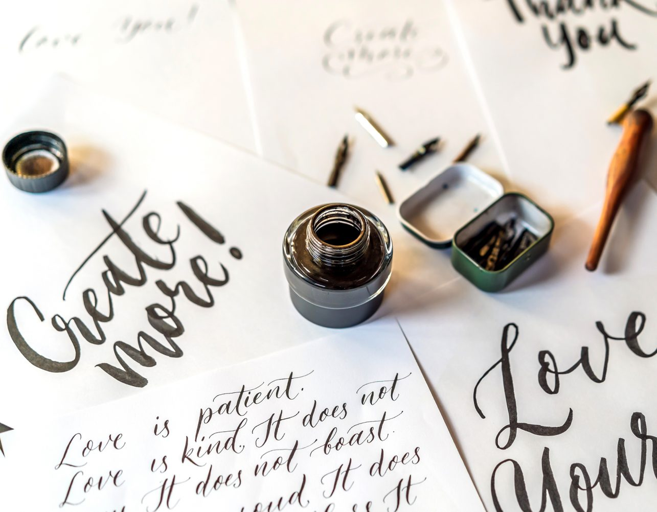 event handlettering