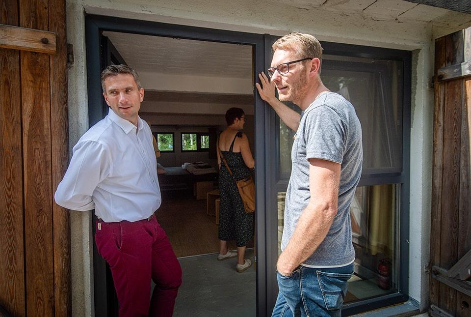 Besuch von Martin Dulig, Staatsminister für Wirtschaft, Arbeit und Verkehr des Freistaats Sachsen © SMWA/Kristin Schmidt