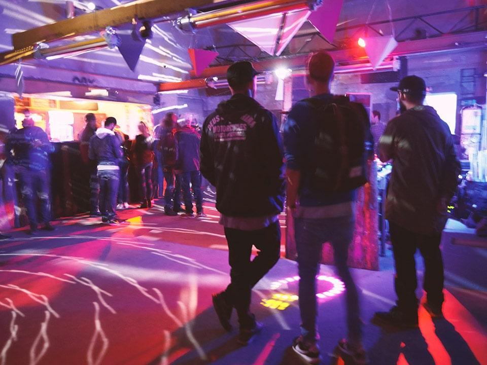 Party in der Alten Schmiede