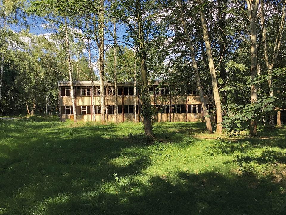 Das Atelierhaus vor der Entkernung 2017